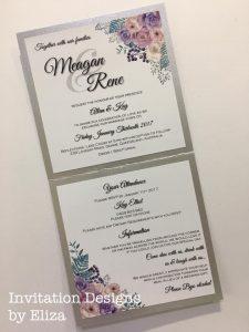 For beautiful bespoke invitations see Eliza