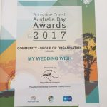 My Wedding Wish is nominated for a community award