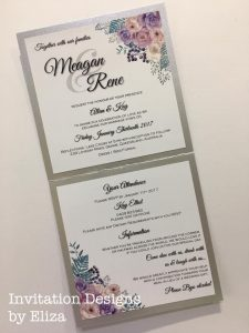 For beautiful bespoke invitations see Eliza
